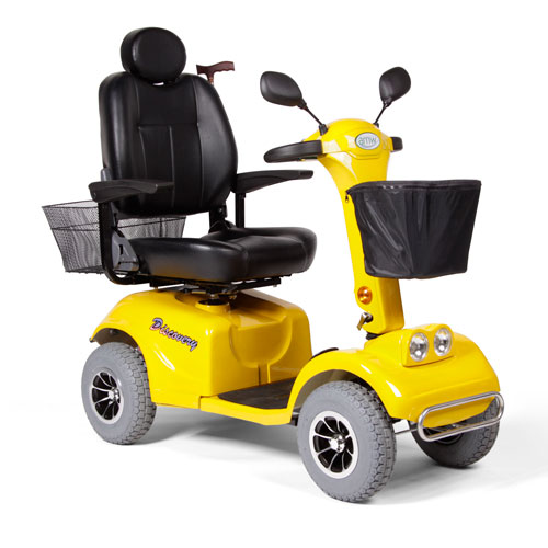 Yellow Mobility Scooter - Model Discovery