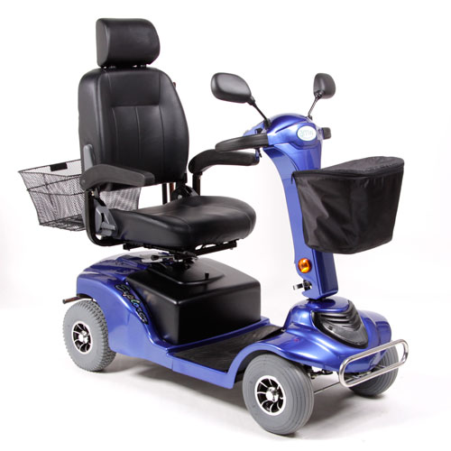 Blue Mobility Scooter - Model Explorer
